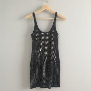 Express little black sparkly dress